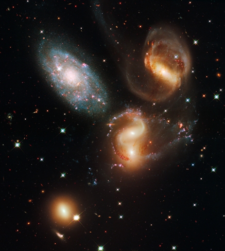 Hubble Stephan's Quintet
